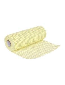 Jantex Niet geweven doekjes geel | 23x43cm | 100 stuks