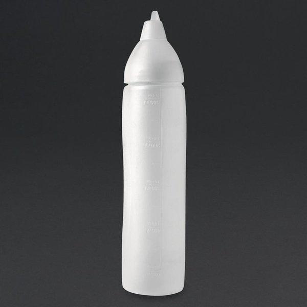 Araven Aravent transparante anti-drup knijpfles 50cl
