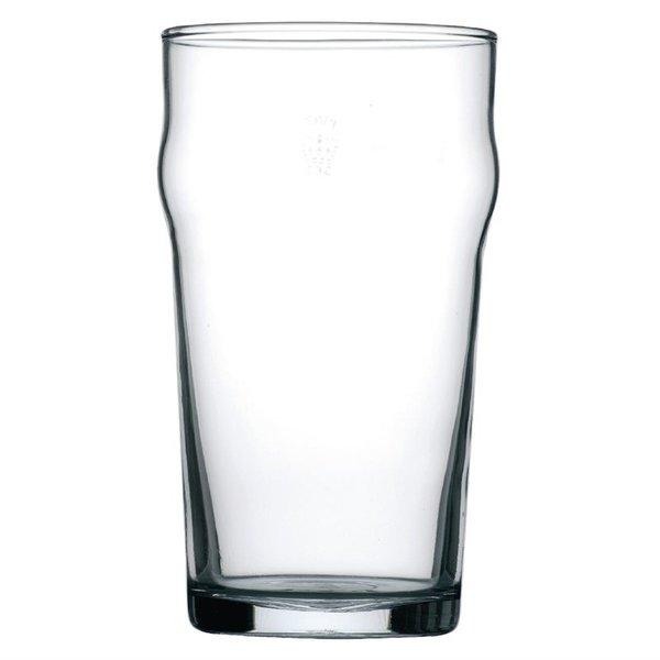 Arcoroc Arcoroc Nonic geharde bierglazen met reliëfbodem