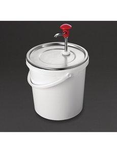 Schneider Sausdispenser met pomp | 10 Liter | Instelbare dosering