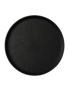 Roltex Roltex Blackline antislipdienblad zwart 31cm