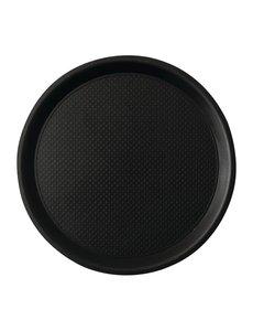 Roltex Roltex Blackline antislipdienblad zwart 38cm