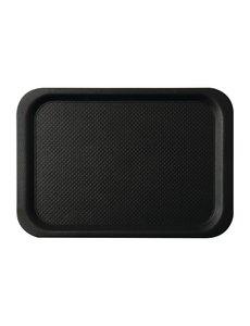 Roltex Roltex Blackline antislipdienblad zwart 42x30cm