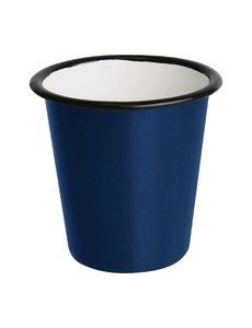 Olympia Emaille beker blauw 31cl | Per 6 stuks