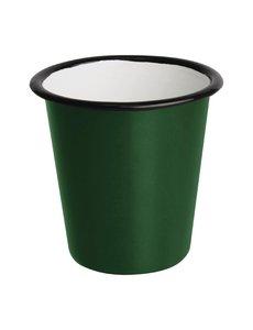 Olympia Emaille beker groen 31cl | Per 6 stuks
