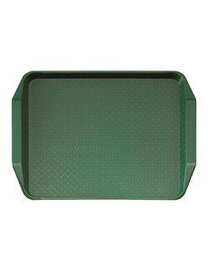 Cambro Cambro polypropyleen fastfood dienblad met handvatten groen 43x30cm