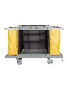 Jantex Jantex huishoudwagen met 2 zakken