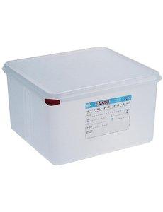 Araven Voedseldoos met deksel 19 liter | GN2/3 - 200mm. | 4 stuks