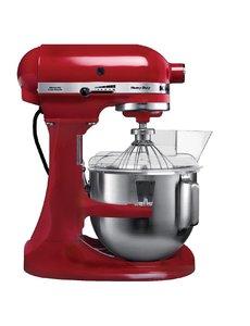 KitchenAid K5 Heavy Duty mixer rood | Kom 4.8 Liter | 10 Snelheden