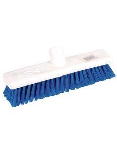 Jantex Bezem zacht en hygiënisch blauw | 30 cm. breed