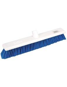 Jantex Bezem zacht en hygiënisch blauw | 45 cm. breed