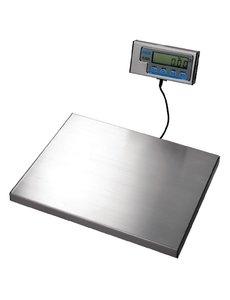 Salter Weegschaal met los display tot 60 kilo   38x30 cm.
