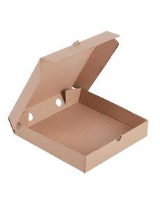 Fiesta Green Composteerbare kartonnen pizzadoos | 23x23cm | 100 stuks