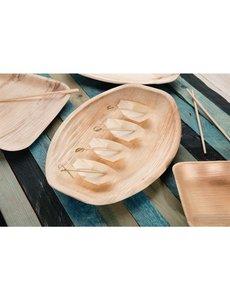 Fiesta Green Biologisch afbreekbare houten bootjes 8cm | 100 stuks