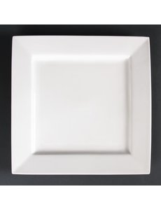 Lumina Fine China Borden vierkant | 26,5x26.5cm | 4 stuks