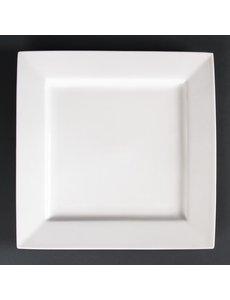 Lumina Fine China Lumina vierkante borden 26,5cm