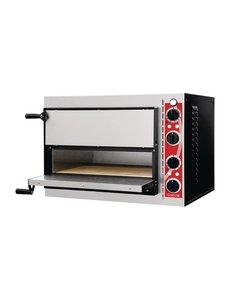 Gastro-M Pizzaoven voor 2 pizza's max. Ø 32cm.   2,4kW/230V.    50°C tot 320°C