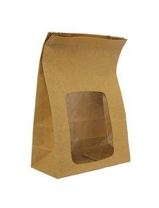 Composteerbare sandwichzakken | 23(h) x 15,2(b) x 7,6(d)cm | 250 stuks