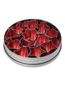 Vogue Stekerdoos figuren zacht staal | Ca. 10 mm. | Set van 12