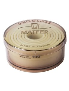 Matfer Bourgeat Stekerdoos rond glad exoglass | 3-10(Ø)cm. | Set van 8