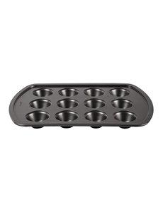 Avanti anti-kleef patisserievorm  | 12 mini-muffins | Holtes Ø5x2 cm. diep