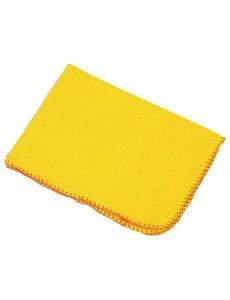 Jantex Stofdoeken 100% katoen geel | 50x40 cm. | 10 stuks