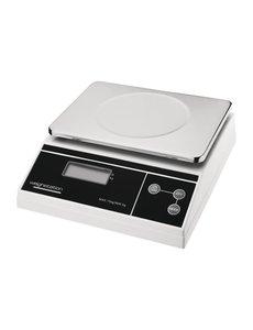 Weighstation Digitale weegschaal  tot 15 kilo | Gradatie 5 gram