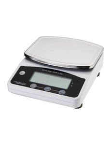 Weighstation Digitale weegschaal tot 3 kilo | 18x22.5xH8 cm.