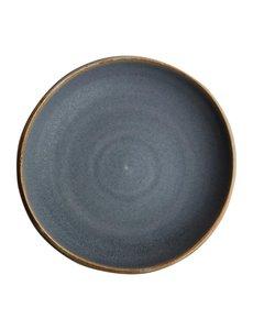 Olympia Canvas blauw graniet diepe coupe borden Ø23cm   Per 6 stuks