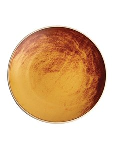 Olympia Olympia Canvas gewelfde borden roestoranje 27cm
