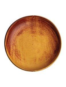 Olympia Olympia Canvas diepe coupe borden roestoranje 23cm