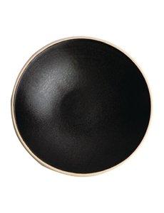 Olympia Olympia Canvas ondiepe schalen zwart 20cm