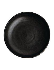 Olympia Olympia Canvas diepe coupe borden zwart 23cm