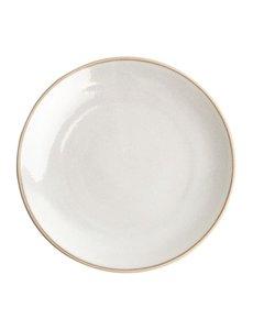 Olympia Olympia Canvas gewelfde borden wit 27cm