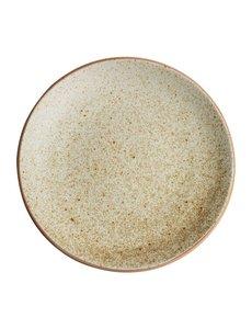 Olympia Olympia Canvas gewelfde borden crème 27cm