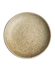 Olympia Canvas crème diepe coupe borden  Ø23cm | Per 6 stuks