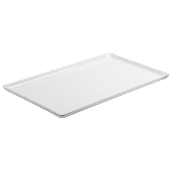 APS APS Float platte melamine schaal wit GN 1/2 | 32.5x26.5xH3cm.