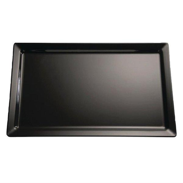 APS APS Pure melamine schaal zwart GN 1/2 | 32.5x26cm.