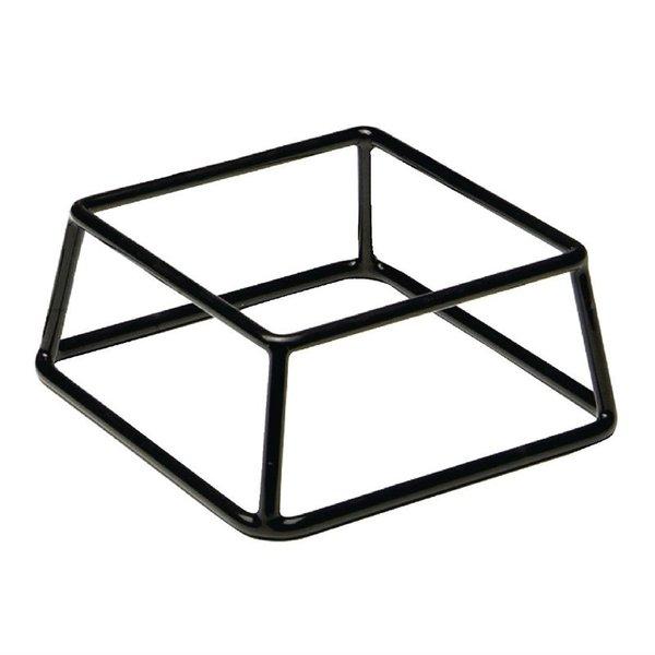 APS APS Buffetstandaard laag zilver | 18x18xH8cm