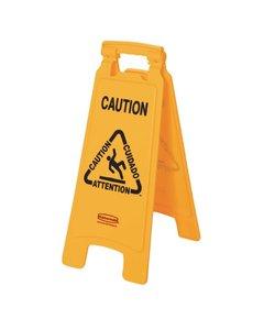Rubbermaid Rubbermaid meertalig waarschuwingsbord natte vloer