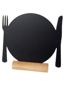 Securit Mini tafelkrijtbordje bord | 10.5xH10 cm. | Per 3 stuks