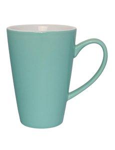 Olympia Café latte bekers aqua 34cl   12 stuks