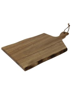 Olympia Acaciahouten plank golvende rand | 38,5x21,5cm