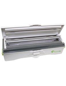 Wrapmaster Foliedispenser duo  is geschikt voor 45 cm. navullingen