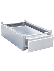 Gastro-M Gastro M RVS lade voor onderbouw 45x58x18cm