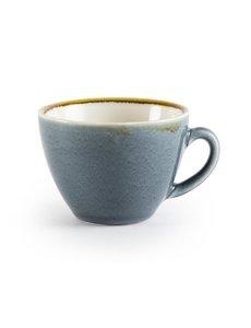 Olympia Kiln cappuccino kopjes blauw 34cl | 6 stuks