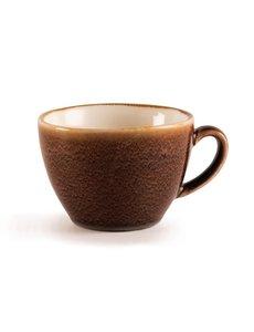 Olympia Kiln cappuccino kopjes bruin 34cl | 6 stuks