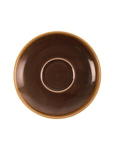 Olympia Kiln cappuccino schotels bruin Ø 16cm | 6 stuks