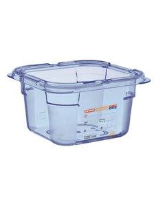 Araven ABS blauwe voedseldoos BPA-vrij | GN 1/6 - 10cm diep