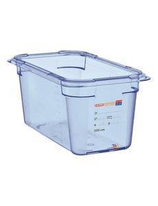 Araven ABS blauwe voedseldoos BPA-vrij | GN 1/4 - 15cm diep